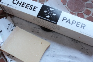 Parmigian0-Reggiano Keep Fresh Wrapped in Cheese Paper