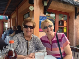 Roberta and Cathy