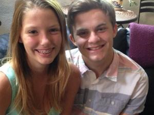 Nicole and Evani